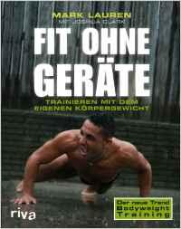 Die besten Fitness und Bodybuilding Bücher - Fit ohne Geräte