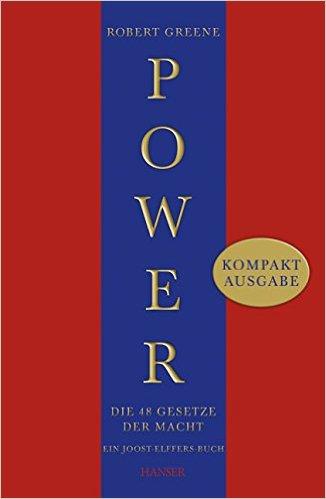 Die besten Selbsthilfebücher - Power die 4 Gesetze der Macht