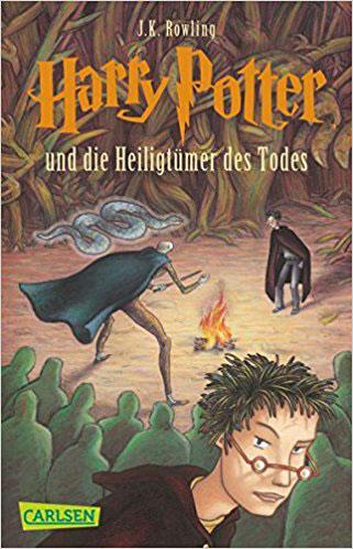 Harry Potter und die Heiligtümer des Todes Bestseller Romane