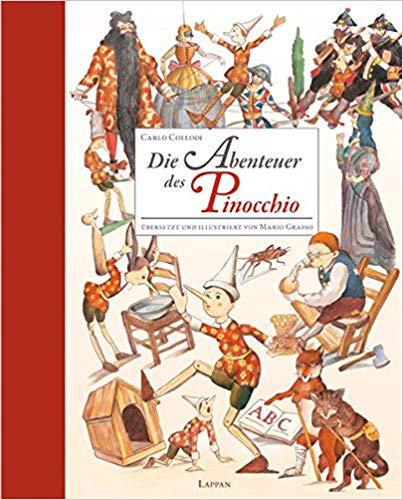 Die Abenteuer des Pinocchio Bestseller Kinderbücher