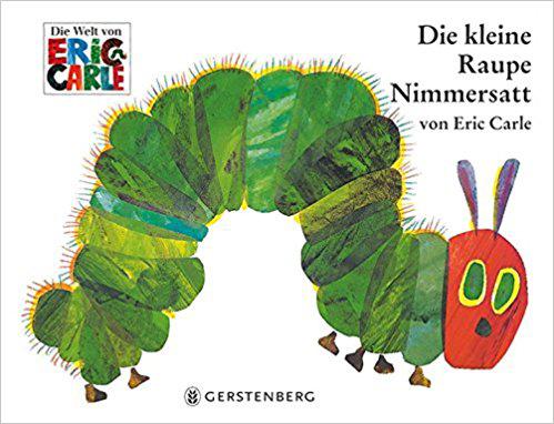 Die kleine Raupe Nimmersatt Bestseller Kinderbücher
