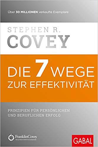 Bestsekker Sachbücher - Die 7 Wege zur Effektivität