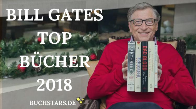 Bill Gates Beste Bücher 2018