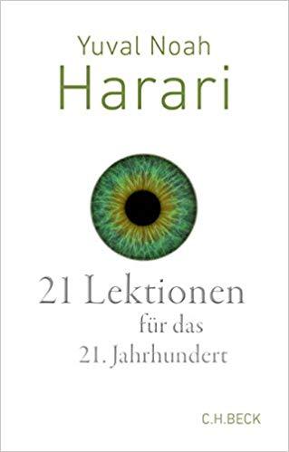 Meistverkaufte Bücher 2018 - 21 Lektionen für das 21. Jahrhundert