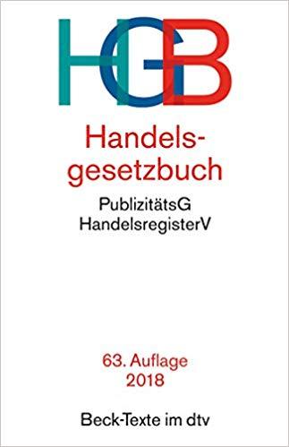 Bestseller 2018 - HGB