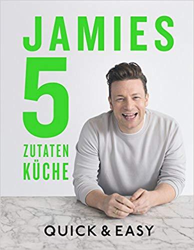 Meistverkaufte Bücher 2018 - Jamies 5 Zutaten Küche