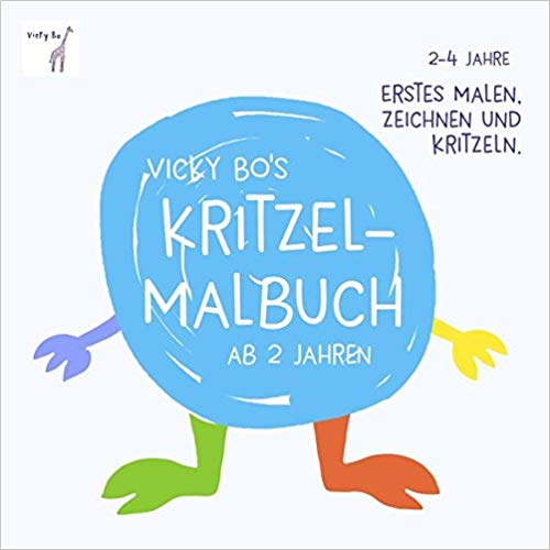 Bestseller 2018 - Kritzel-Malbuch