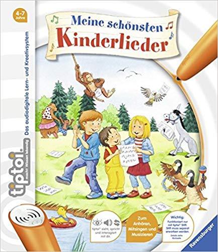 Meistverkaufte Bücher 2018 - Tiptoi Kinderlieder