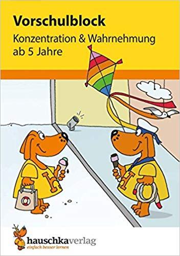 Meistverkaufte Bücher 2018 - Vorschulblock - Konzentration
